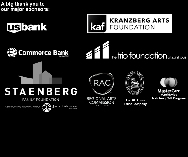 A big thank you to our generous sponsors